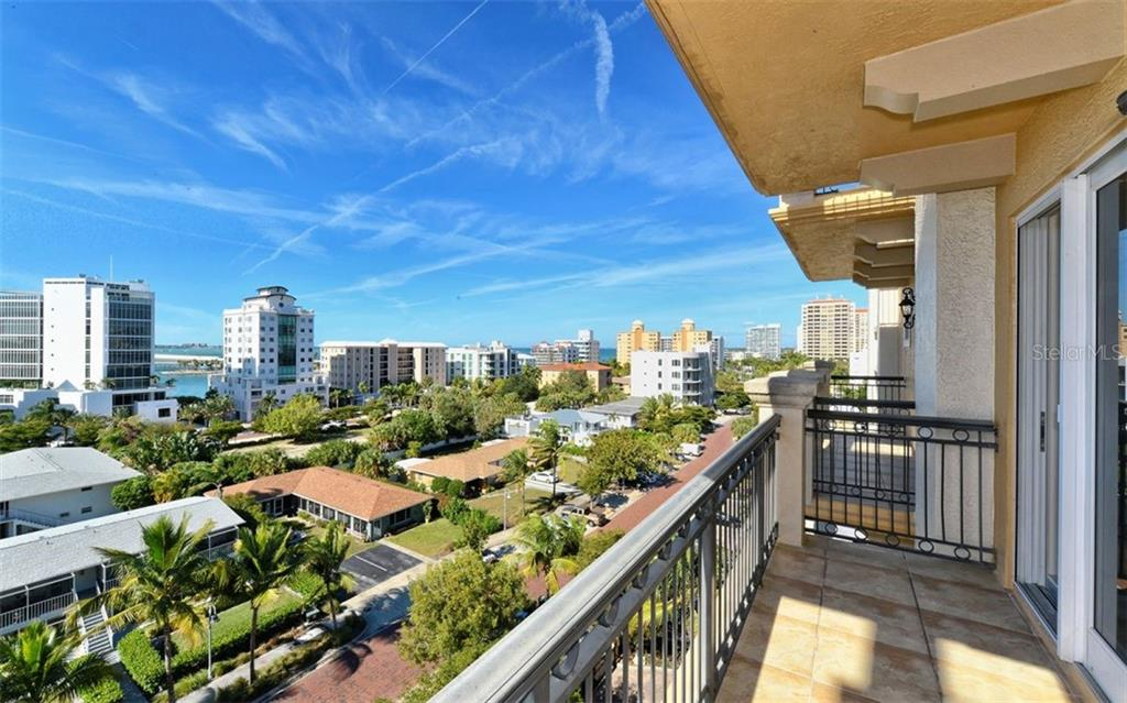View from Terrance of the Guest En Suite. - Condo for sale at 464 Golden Gate Pt #701, Sarasota, FL 34236 - MLS Number is A4422622