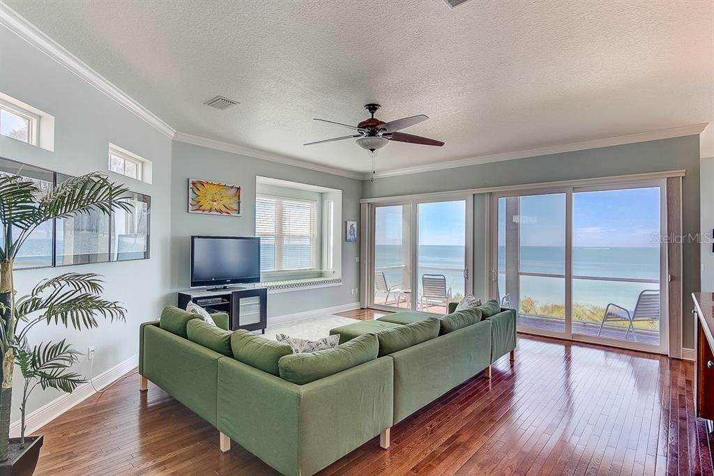 West Living Room ~ 2nd Floor - Duplex/Triplex for sale at 2500 Gulf Dr N, Bradenton Beach, FL 34217 - MLS Number is A4424506