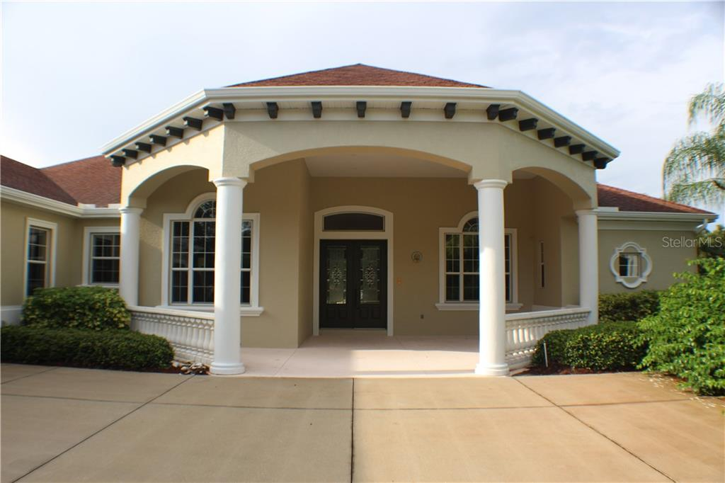 Grand gazebo-style front porch with details everywhere! - Single Family Home for sale at 15109 17th Ave E, Bradenton, FL 34212 - MLS Number is A4425963