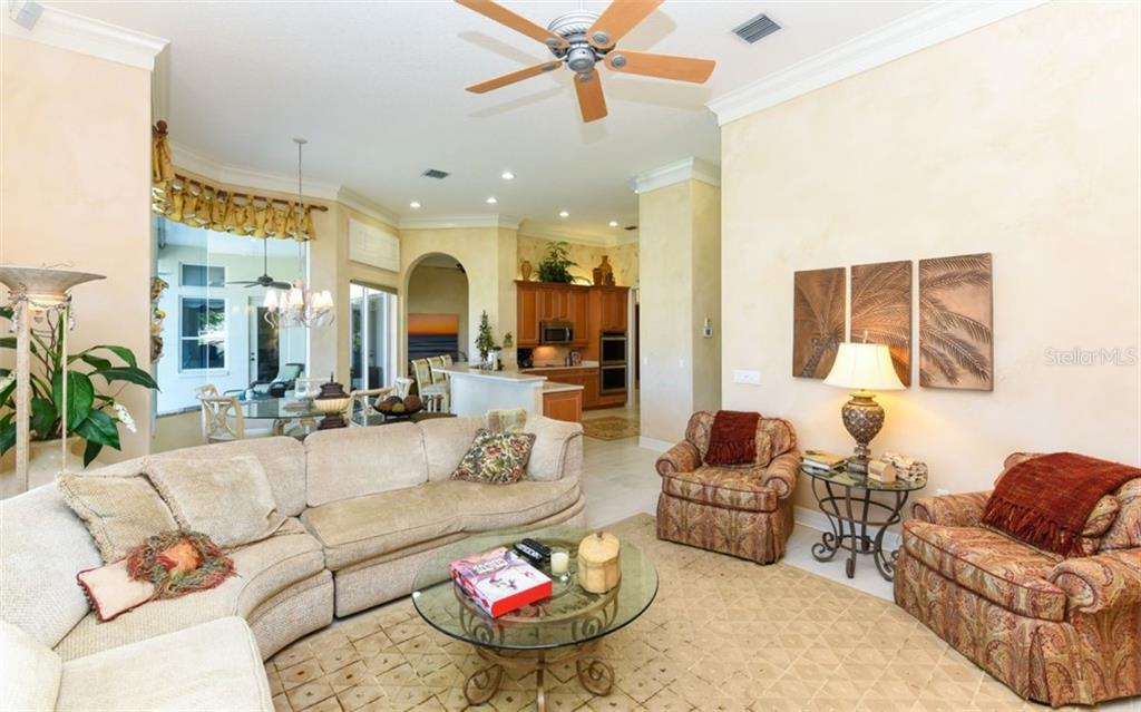 Family Room off the kitchen and Kitchenette - Single Family Home for sale at 561 Ketch Ln, Longboat Key, FL 34228 - MLS Number is A4426280