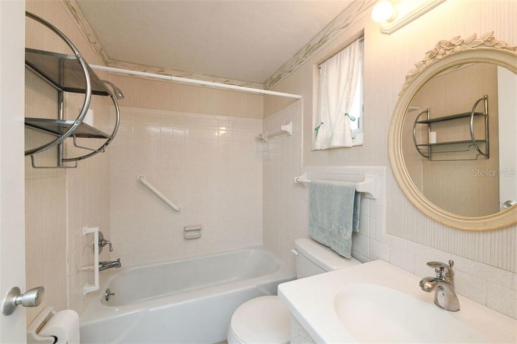 Guest Bathroom - Single Family Home for sale at 2424 Terry Ln, Sarasota, FL 34231 - MLS Number is A4429030