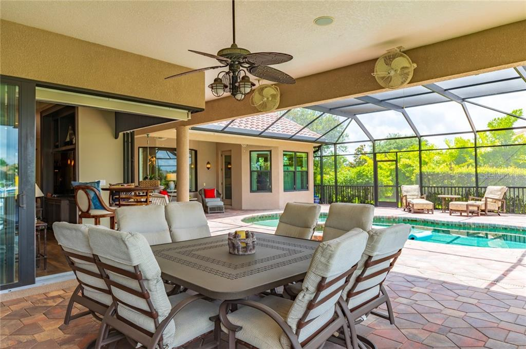 Outdoor Lounge Area - Single Family Home for sale at 11728 Rive Isle Run, Parrish, FL 34219 - MLS Number is A4439074