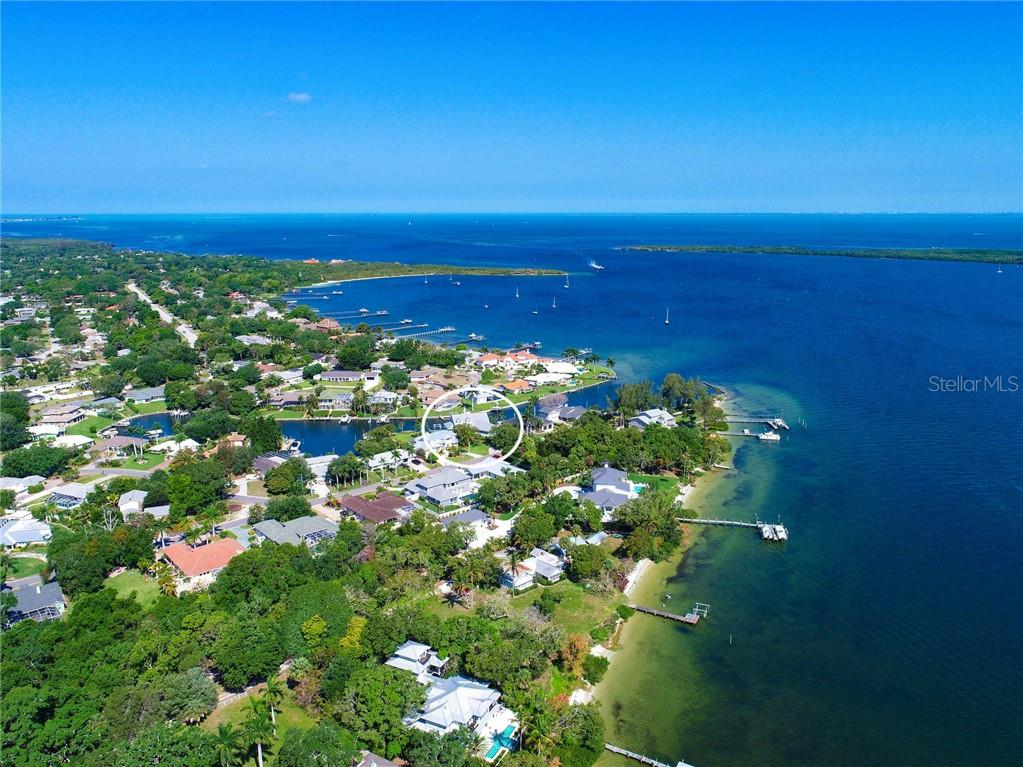Shaws Point leading to the Manatee River - Single Family Home for sale at 2008 72nd St Nw, Bradenton, FL 34209 - MLS Number is A4450238