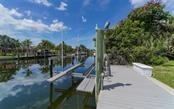 Nice big 10,000 lb. lift. - Single Family Home for sale at 390 Bob White Dr, Sarasota, FL 34236 - MLS Number is A4413388