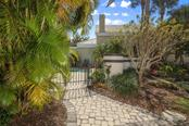Entrance to Community Pool - Single Family Home for sale at 7728 Club Ln, Sarasota, FL 34238 - MLS Number is A4428061