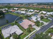 Birds eye view of Marbella and surrounding Palmer Ranch communities. - Single Family Home for sale at 4117 Via Mirada, Sarasota, FL 34238 - MLS Number is A4438764