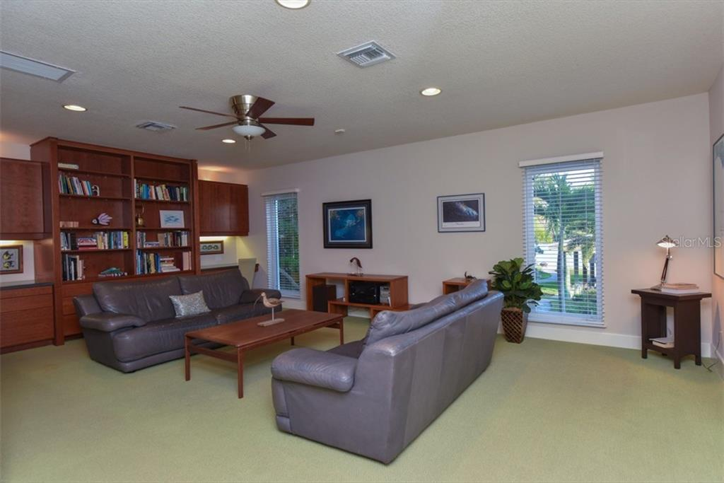 Media Room - Single Family Home for sale at 525 Bayview Pkwy, Nokomis, FL 34275 - MLS Number is N5912985