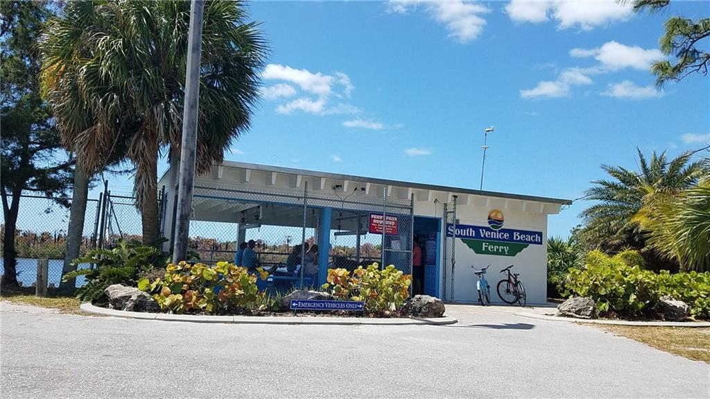 Beach ferry takes you to private beach - Vacant Land for sale at Beverly Rd, Venice, FL 34293 - MLS Number is N5917175