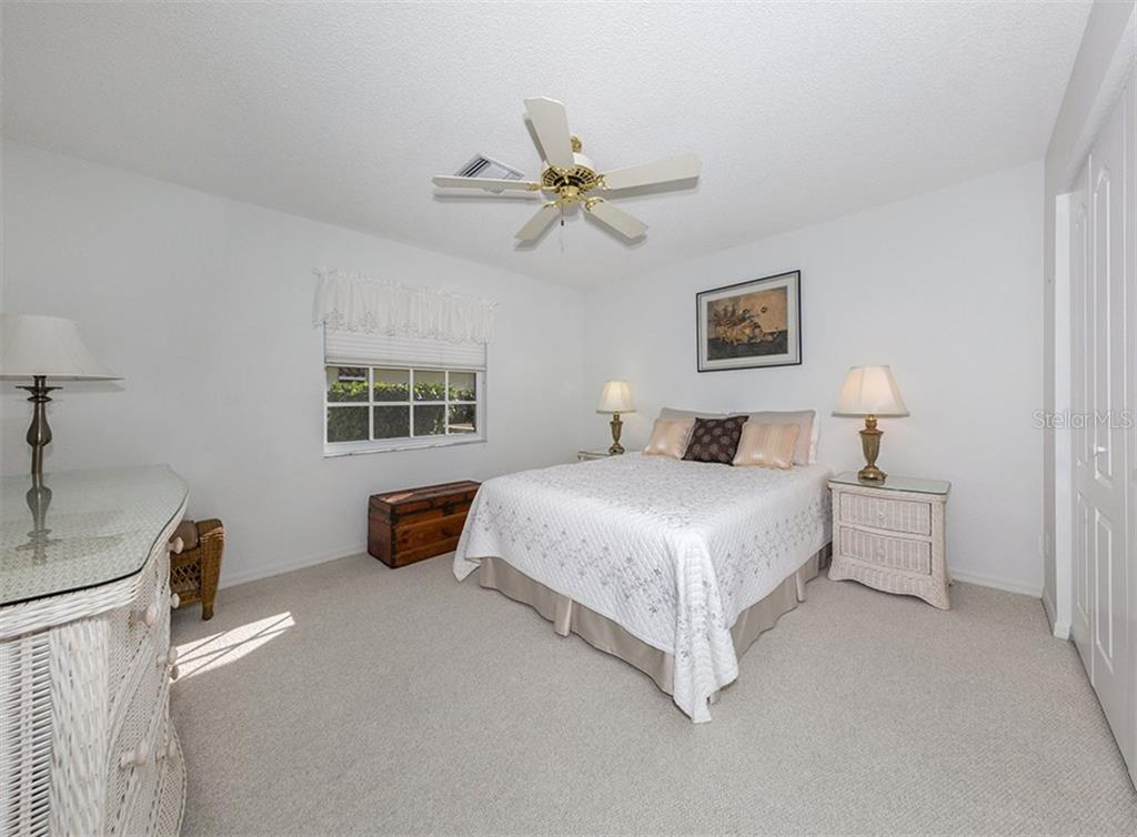 Bedroom 2 - Single Family Home for sale at 515 Park Estates Sq, Venice, FL 34293 - MLS Number is N6103193