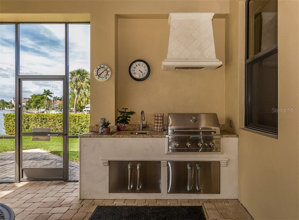 Outdoor Kitchen, granite counters - Single Family Home for sale at 1980 W Marion Ave, Punta Gorda, FL 33950 - MLS Number is N6104995